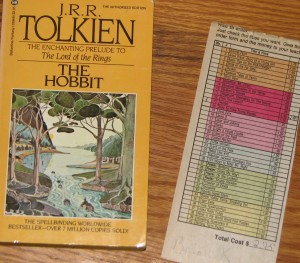 The Hobbit and the Order Slip