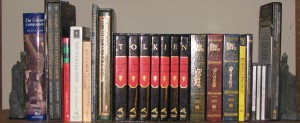 Tolkien's Shelf